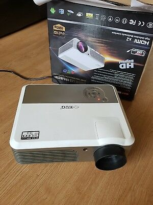 EUG Digital Full HD LED Projector 16:9 HDMIx2