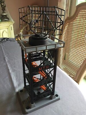Rail King by MTH #197 Radar Tower 30-9032 With add on lights. Goes with Lionel O