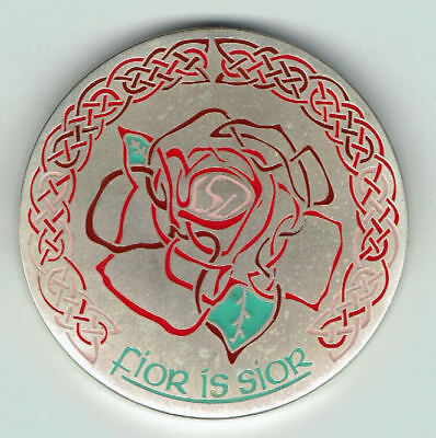 Celtic Geocoin CE 59 True and Eternal, silver antique,  unactivated