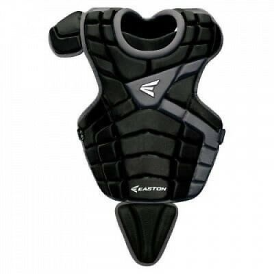 (Navy/Silver) - Easton M10 Youth Catcher's Chest Protector. Delivery is Free