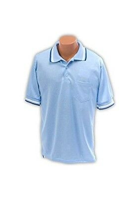 Umpire Shirt AM in Light Blue (Large). Athletic Connection. Best Price