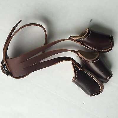(Large) - EW Bateman Cordovan Leather Shooting Glove - 2 Layer With Insert