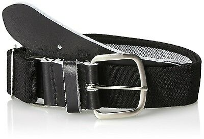 (Youth, Black) - Champion Sports Elastic Uniform Belt. Delivery is Free
