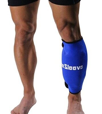 IceSleeve Calf/Shin-Straps, Blue. Free Shipping