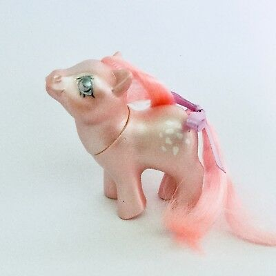 My Little Pony Vintage G1 - Hasbro - Pearlized Baby Cotton Candy US Mail Order