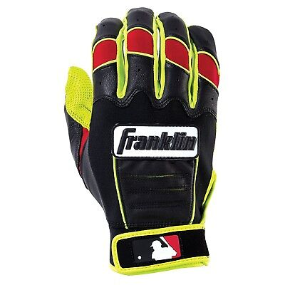 (Adult Large, Optic Yellow/Red) - Franklin Sports CFX Pro Revolt Series