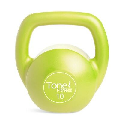 (Lime- 10 Pound) - Tone Fitness Kettlebell. Best Price