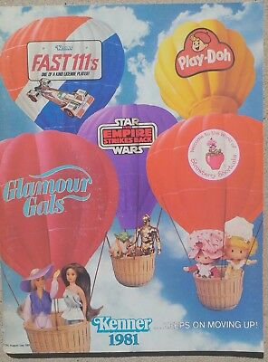 Kenner Vintage Toy Fair Dealer Catalog from 1981 - RARE!!!!