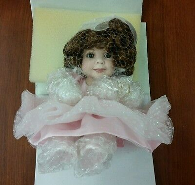 """Marie Osmond Sugar Cookie 5"""" Doll Tiny Tot Collection Limited Edition number 208"""