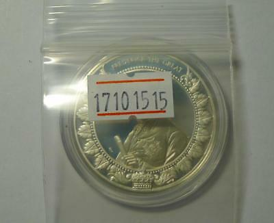 1997 LIBERIA 20 Dollars Worlds Conqueror Silver Proof Coin