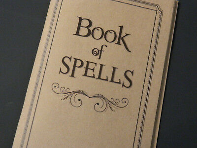 BOOK OF SPELLS  * Harry Potter * 200+ spells * Makes great gift