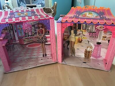 Barbie Shop And Cafe