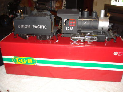 Lgb Train Union Pacific Loco / Tender With Sound / Lights And Smoke