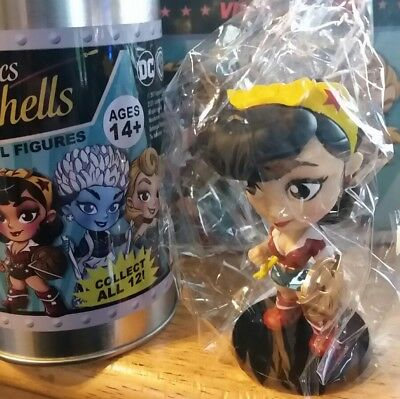 New Series 2 Cryptozoic Lil Dc Bombshells Vinyl Figure Wonder Woman
