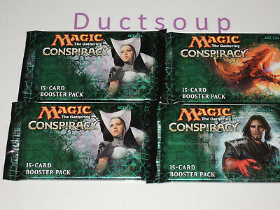 MTG - 4 Conspiracy booster packs.