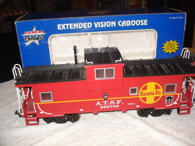 Usa Trains G Gauge Santa Fa Caboose No: R12101 With Lights
