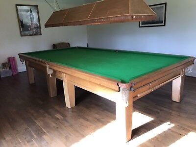 snooker table full size
