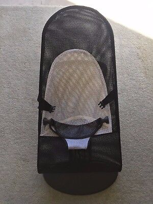 Baby Bouncer (Black and White) - Baby Bjorn Balance Style