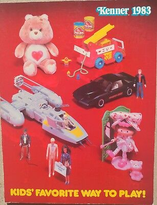Kenner Vintage Toy Fair Dealer Catalog from 1983 - RARE!!!!