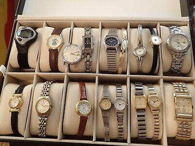 Huge Watch Lot Many Work Inventory Clearance *Watches Only*#35