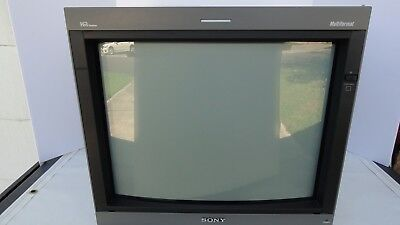 SONY PVM-20L5 20 INCH MULTIFORMAT MONITOR Great Retro Gamer EXCELLENT PICTURE!