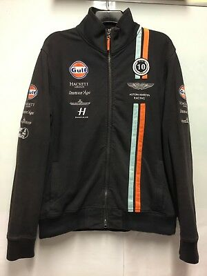 Aston Martin Racing Gulf Hackett Team Issue  Fleece Xl