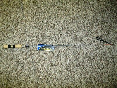 """No.8 Tackle Co. Snitch Ice Rod 20"""" Quick Tip Dead Stick Walleye Perch"""