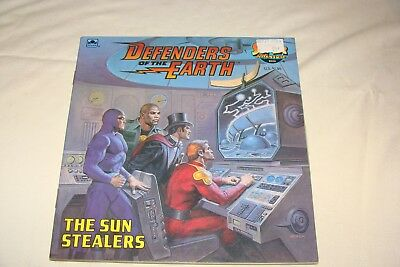 DEFENDERS of the EARTH, The Sun Stealers, SC 1986, Super Adventure Book