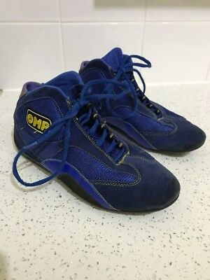 OMP KARTING RACING BOOT, RALLY SHOES SIZE UK 8 Euro 42