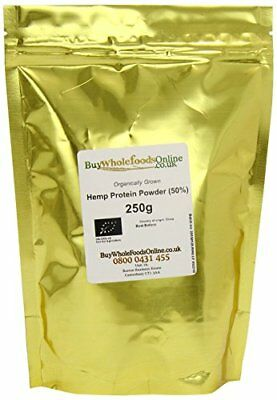 Buy Whole Foods Organic Hemp Protein Powder 250 g