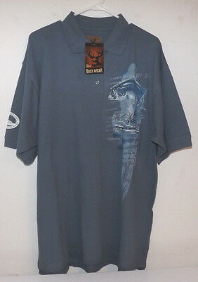 Ontario Federation of Hunters and Anglers Large Mouth Bass Shirt. New with Tags.