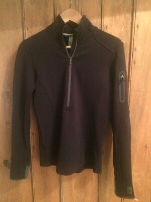 Smartwool Mid Layer Top Black S