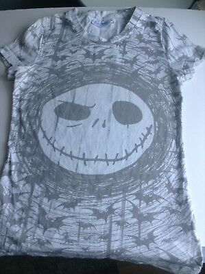 Disneyland Paris Nightmare Before Christmas Ladies Tshirt Size M
