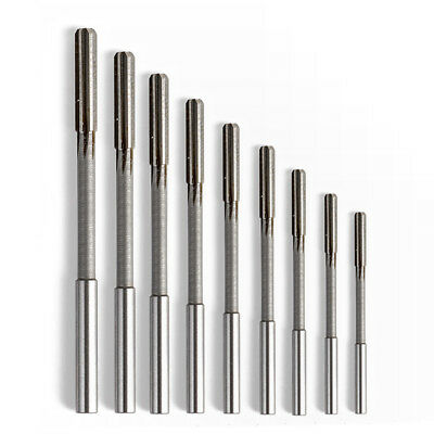 7pcs Reamer Straight Shank HSS Chucking Milling H7 Drill Bit 3/4/6/7/8/9/10mm