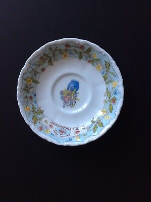 Royal Doulton Bramley Hedge 'the Engagement ' Saucer.