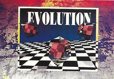 Paw Print - Evolution Rave Flyer 1991 - Dr S Gachet, Kev Bird, Stacey Tough