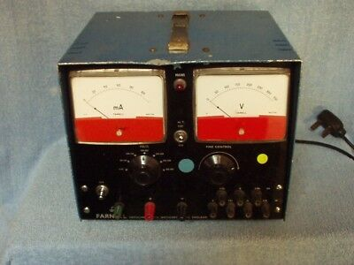 A Farnell Bench Power Supply Type E350, in good working order.