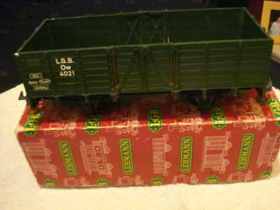 Lgb Wagon No: 4021 Weathered Boxed