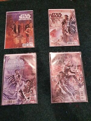 Star Wars Shattered Empire comic series issues 1 -4