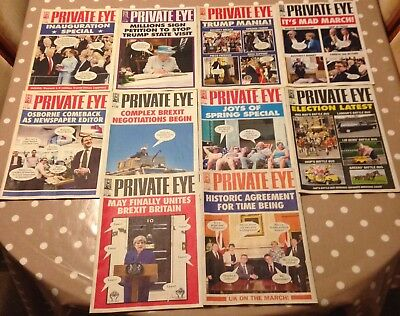 PRIVATE EYE no. 1442 April 21st - May 5th 2017 Joys of Spring Special