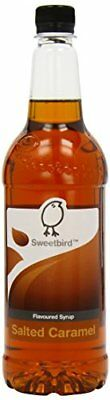 Sweetbird Salted Caramel Syrup 1 Litre