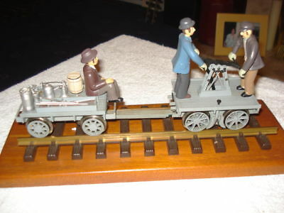 Rare Bachmann Eletric Hand Car And Trailer No: 96201
