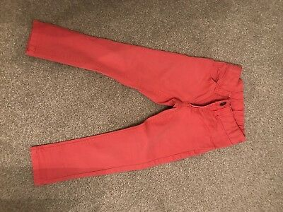 Little Joules Coral Jeans Age 4
