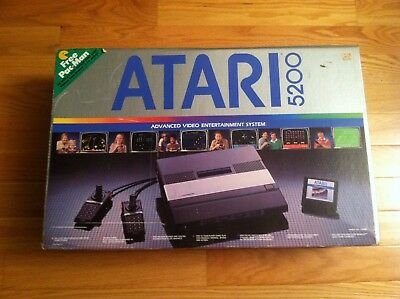 Atari 5200: Game Console System [EMPTY BOX ONLY] NO CONSOLE! very good condition