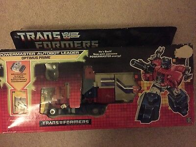 Transformers Optimus prime vintage 1980s boxed toy