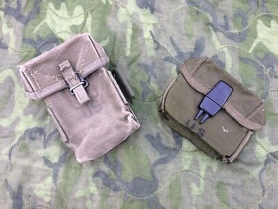 US. AMMO POUCHES | completely stripped | M56 & M67 | Vietnam