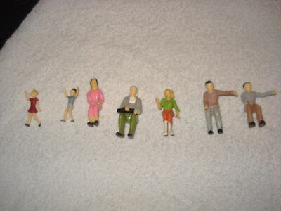 Lgb G Gauge Painted Figures X 7