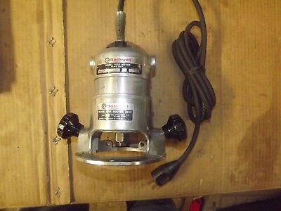 Rockwell Porter Cable 100 Router - 1001 Base & 1002 Motor