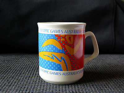 Official Olympic - Sydney 2000 Games commemorative ceramic mug - RARE! cup