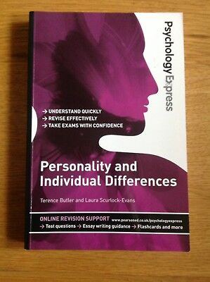 Personality and individual differences- Psychology BN